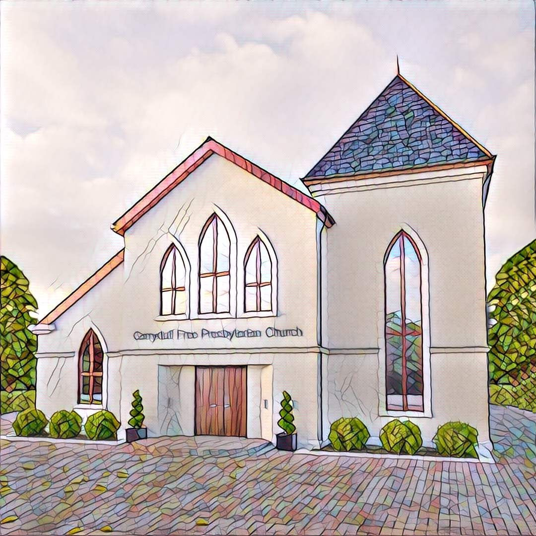 New church window designs carryduff free presbyterian church for Modern church youth building design