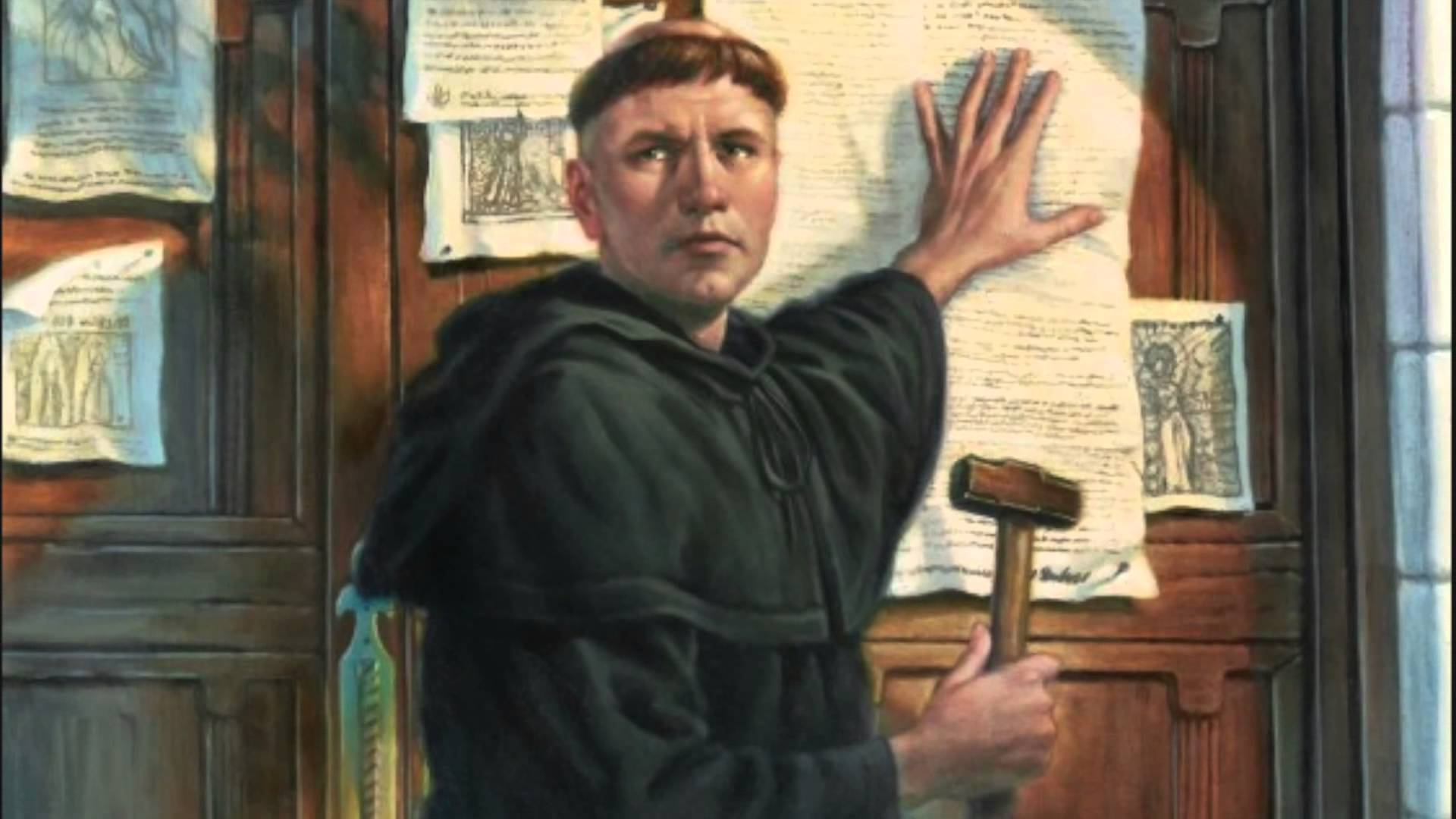 the corrupt church and martin luther Martin luther and john calvin were major leaders of the reformation luther's name is the one that is most connected to the reformation because it was his criticisms of the church that led to the.